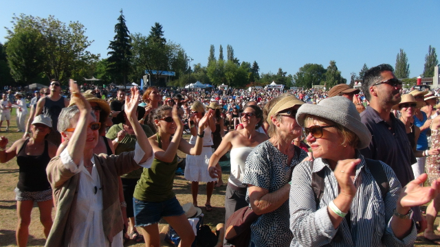 Summer music loving at Deer Lake Park!