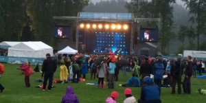 2014 CBC Music Festival at Deer Lake Park in Burnaby, BC