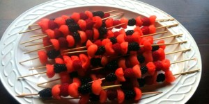Summer Fruit Skewers