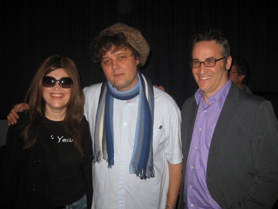 Hanging with Ron Sexsmith & Rob Jones - two of my music legends.