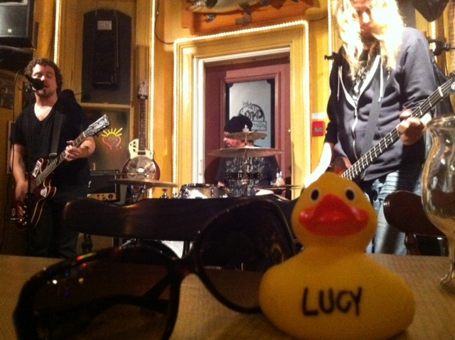 Lucy Duck RAWKS out to Tunes from the Road with Ross Neilsen