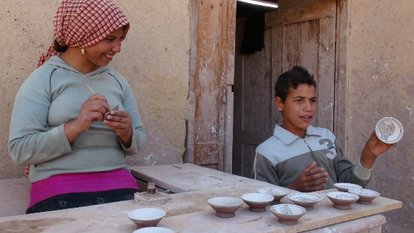 Egyptian Daily Diaries: Fayoum ~ Ancient Seabed to Budding Artists