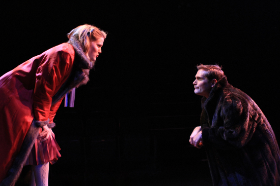 Kaitlin Williams and Mack Gordon, as Lucy & Mrs. Beaver, as photographed by Ron Reed.
