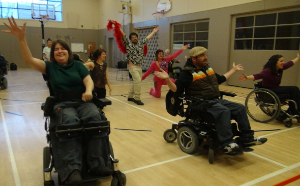 Realwheels #WheelVoices Dancers Rehearsing