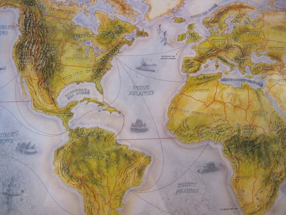 Geeking out to Maps and Board Games