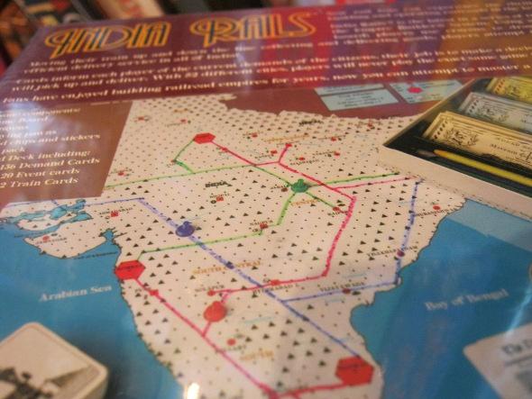 India Rails Boardgame