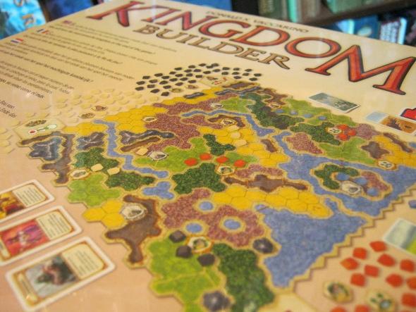 Kingdom Builder Boardgame