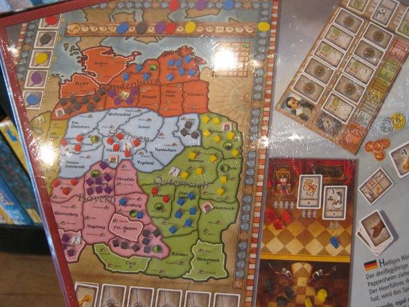Wallenstein Boardgame