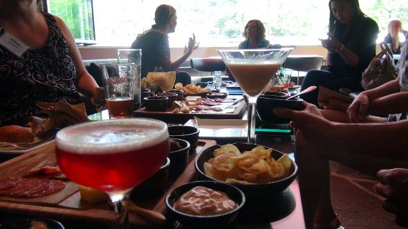 Grain Tasting Bar's Blood Diamond & Vancouver Fog