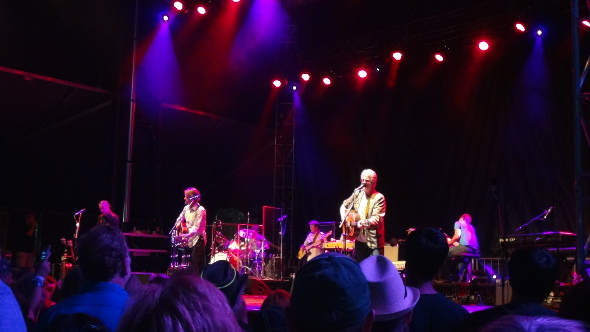 Blue Rodeo at the 2013 Burnaby Blues and Roots Festival.