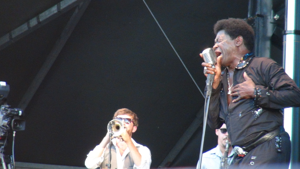 Charles Bradley at the 2013 Burnaby Blues and Roots Festival.