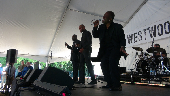 The Sojourners at the 2013 Burnaby Blues and Roots Festival.