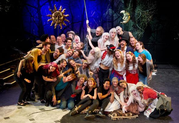 Studio 58 Cast of A Midsummer Night's Dream