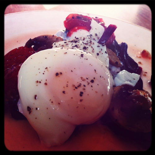 Brunch: Eggs Poached Healthy