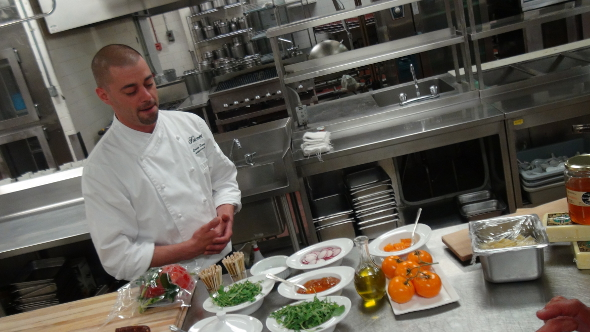 Fairmont Chateau Laurier Executive Chef Louis Simard