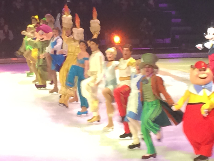 Dating at Disney on Ice