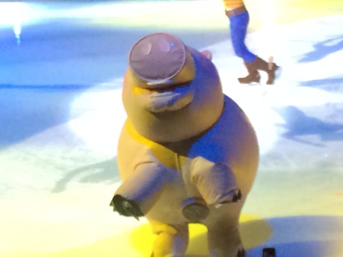 Pigs on Ice at Disney on Ice