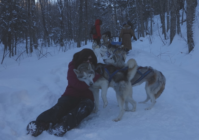 Finding Love in Ontario's Haliburton Highlands with Winterdance
