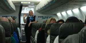 Welcome Aboard WestJet