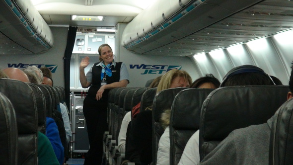 WestJet Style of Monday Moving and Grooving
