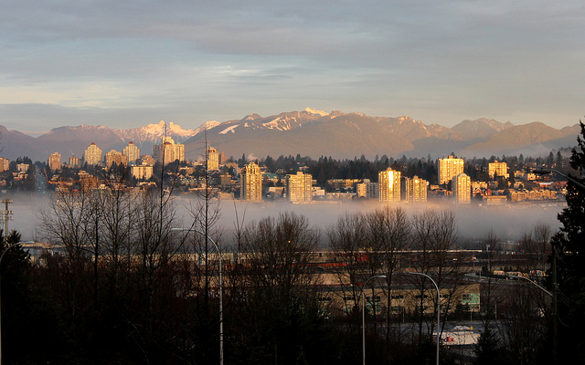 New Westminster Morning by Danna of Curious Tangles.