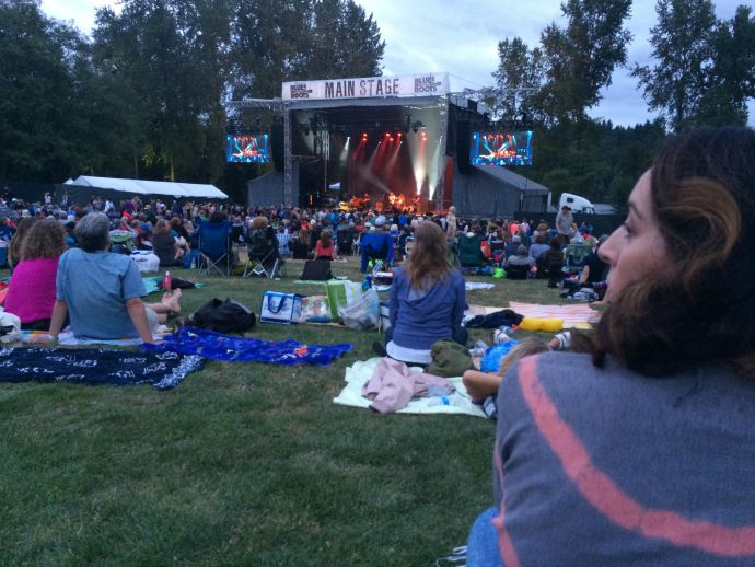 Evening at the 2015 Burnaby Blues and Roots Festival