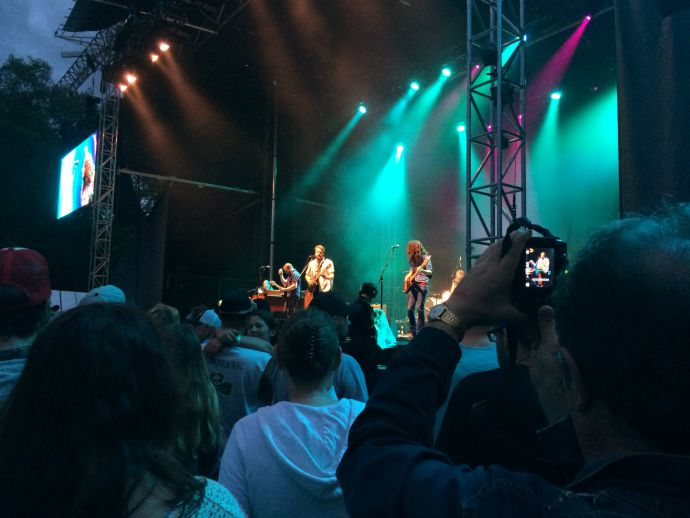 The Sheepdogs at the 2015 Burnaby Blues and Roots Festival