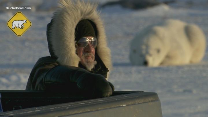 Brian Ladoon with aPolar Bear