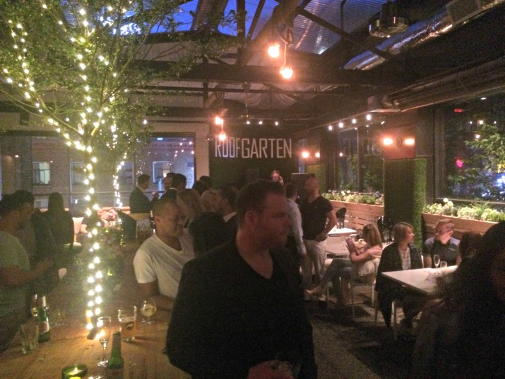 Roof Garten A Sunny Vancouver Pop Up Restaurant With