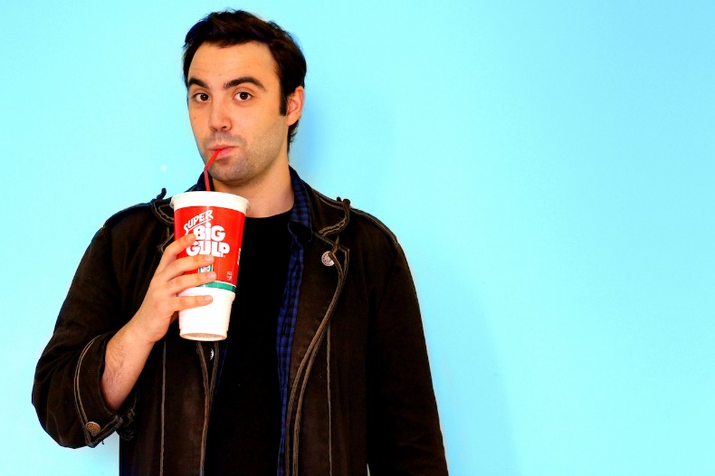 David Z Cohen as JD in Fighting Chance Productions' Heathers the Musical