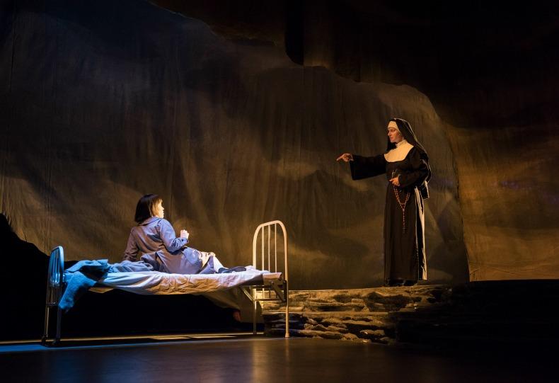 Julia & Sister Bernadette in Children of God Musical
