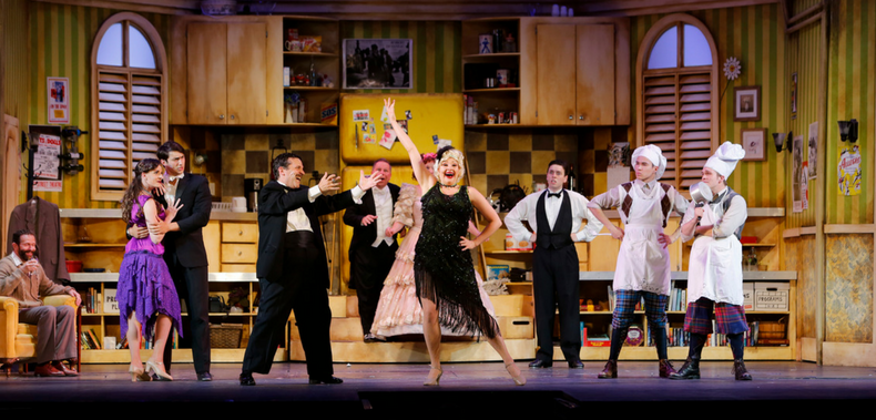 Lauren Gula in TUTS' The Drowsy Chaperone, as photographed by Tim Matheson.
