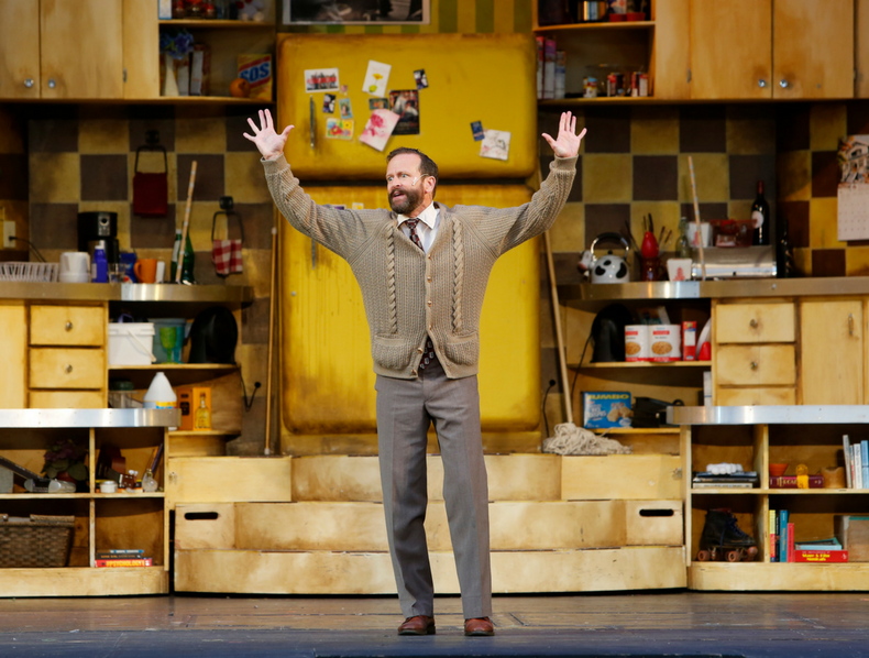 Shawn Macdonald in The Drowsy Chaperone, as photographed by Tim Matheson.