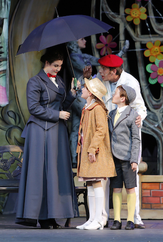 Mary Poppins at Theatre Under the Stars