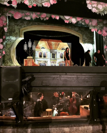 Theatre Under the Star's Orchestra Pit