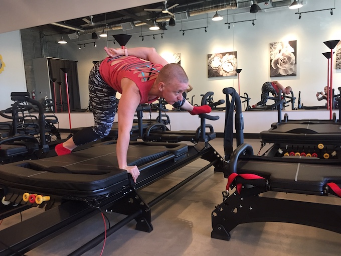 Lagree Fitness Spider Kick